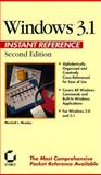 Windows 3.1 Instant Reference, Mosely, Marshall L., 0895888440
