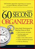 The 60 Second Organizer, Jeff Davidson, 1598698443