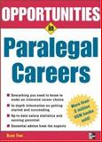 Opportunities in Paralegal Careers, Alice Fins, 0071438440