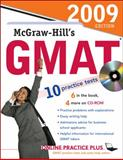 McGraw-Hill's GMAT with CD-ROM, 2009 Edition, Hasik, James and Rudnick, Stacey, 0071598448
