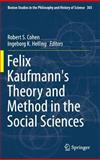 Felix Kaufmann's Theory and Method in the Social Sciences, , 3319028448