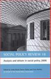 Social Policy Review 18 : Analysis and Debate in Social Policy, 2006, , 1861348444