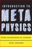Introduction to Metaphysics : From Parmenides to Levinas, Grondin, Jean, 0231148453