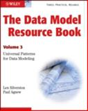 The Data Model Resource Book Vol. 3 : Universal Patterns for Data Modeling, Silverston, Len and Agnew, Paul, 0470178450