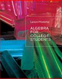 Algebra for College Students, Larson, Ron and Hostetler, Robert P., 0618388451