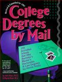 College Degrees by Mail 1997, John Bear and Mariah P. Bear, 0898158451