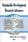 Sustainable Development Research Advances, Larson, Barton A., 1600218466