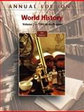 Annual Editions : World History, Volume 2, 9/e, Mitchell, Joseph R. and Mitchell, Helen Buss, 0073528463