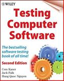Testing Computer Software, Kaner, Cem and Nguyen, Hung Quoc, 0471358460