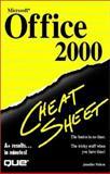 Microsoft Office 2000 Cheat Sheet, Fulton, Jennifer, 0789718472