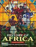 History of Africa, Shillington, Kevin, 0230308473