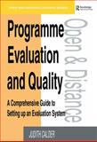 Program Evaluation and Quality, Judith Calder, 0749408472