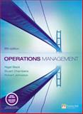 Operations Management, Slack, Nigel and Chambers, Stuart, 0273708473