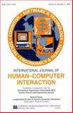 Longitudinal Studies of Human-computer Interaction : A Special Issue of the International Journal of Human-Computer Interaction, , 0805898476