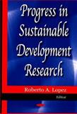 Progress in Sustainable Development Research, Lopez, Roberto A., 1600218474