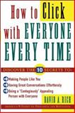 How to Click with Everyone Every Time, Rich, David A., 0071418474