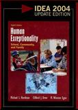 Human Exceptionality 2004 : School, Community, and Family, Hardman, Michael L. and Drew, Clifford J., 0618918477
