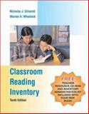 Classroom Reading Inventory : With Teacher Resource and Inventory Administration Kit, Silvaroli, Nicholas J. and Wheelock, Warren H., 0072878479