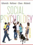 Social Psychology, Gilovich, Tom and Keltner, Dacher, 0393138488