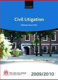 Civil Litigation 2009-2010, , 0199568480