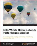 SolarWinds Orion Network Performance Monitor, Darren Cope and Joe Dissmeyer, 1849688486