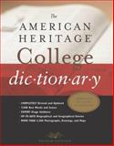 The American Heritage College Dictionary, American Heritage Dictionary Editors, 0618098488