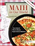 Math in Our World, Media Update with Connect Plus Hosted by ALEKS Corp. Access Card, Sobecki, David and Bluman, Allan, 0077928490