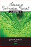Advances in Environmental Research, Daniels, Justin A., 1617288497