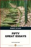 Fifty Great Essays, DiYanni, Robert, 0321848497