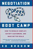 Negotiation Boot Camp, Ed Brodow, 0385518498