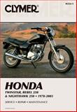 Honda Twinstar, Rebel 250, 1978-2003, Clymer Publications Staff, 0892878495