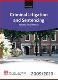 Criminal Litigation and Sentencing 2009-2010, Elizabeth Beckerlegge, James Griffiths, Peter Hungerford-Welch, 0199568502