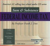 Sum and Substance Audio on Federal Income Taxation, 2004, Frank J. Doti, 0314158502