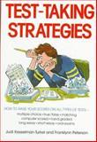 Test-Taking Strategies, Judi Kesselman-Turkel and Franklynn Peterson, 0809258501