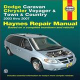 Dodge Caravan Chrysler Voyager and Town and Country, John Haynes, 1563928507