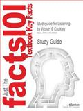Studyguide for Listening by Wolvin and Coakley, Isbn 9780697246646, Cram101 Textbook Reviews Staff, 1618128507