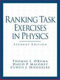 Ranking Task Exercises in Physics, O'Kuma, Thomas L. and Maloney, David P., 013144851X
