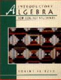 Introductory Algebra for College Students, Blitzer, Robert F., 0023108517