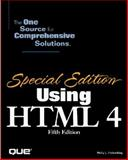 Special Edition Using HTML 4, Holzschlag, Molly E., 0789718510