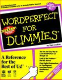 WordPerfect for Dummies, Gookin, Dan, 1878058525