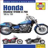 Honda Shadow VT600 and 750 1988 To '09, Max Haynes, 1563928523