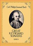Great Keyboard Sonatas, Carl Philipp Emanuel Bach, 0486248534
