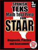 Spanish TEKS 3rd Grade Math Test Prep for STAAR, Teachers Treasures, 150071853X