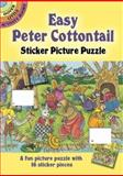 Easy Peter Cottontail Sticker Picture Puzzle, Pat L. Stewart, 0486438538