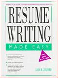 Resume Writing Made Easy, Coxford, Lola M., 0136798535