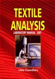 Textile Analysis; Laboratory Manual 2007, , 1934188530