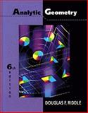Analytic Geometry, Riddle, Douglas R., 0534948545