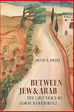 Between Jew and Arab : The Lost Voice of Simon Rawidowicz, Myers, David N., 1584658541