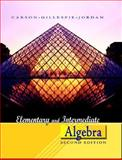 Elementary and Intermediate Algebra, Carson, Tom and Gillespie, Ellyn, 0321368541
