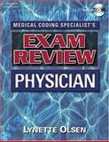 Medical Coding Specialist's Exam Review Physician, Olsen, Lynette, 1401838545